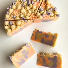 Load image into Gallery viewer, Aruba Island Cake Slice Soap