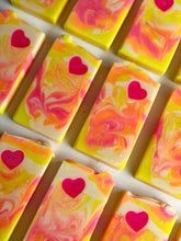 Load image into Gallery viewer, Zesty Heart Loaf Soap