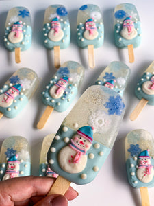 Snowglobe Popsicle Soap