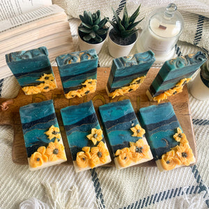 Sunflower Field Loaf Soap