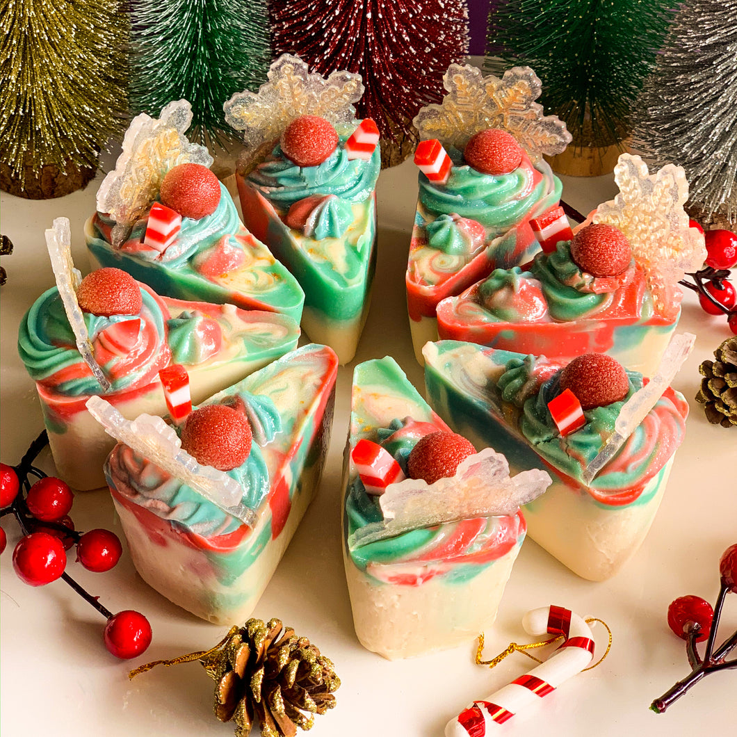The Ultimate X'mas Cake Slice Soap