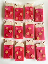 Load image into Gallery viewer, Luxe Hot Pink Chocolate Loaf Soap