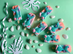 Seascape Mermaid Popsicle Soap