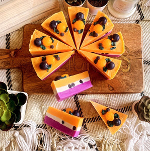 Peach & Berry Cake Soap