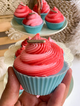 Load image into Gallery viewer, Pink Peppermint Cupcake Soap