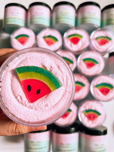 Coastal Watermelon Whipped Soap Scrub