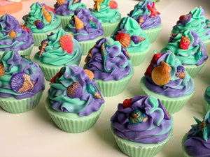 Seashell Cupcake Soap