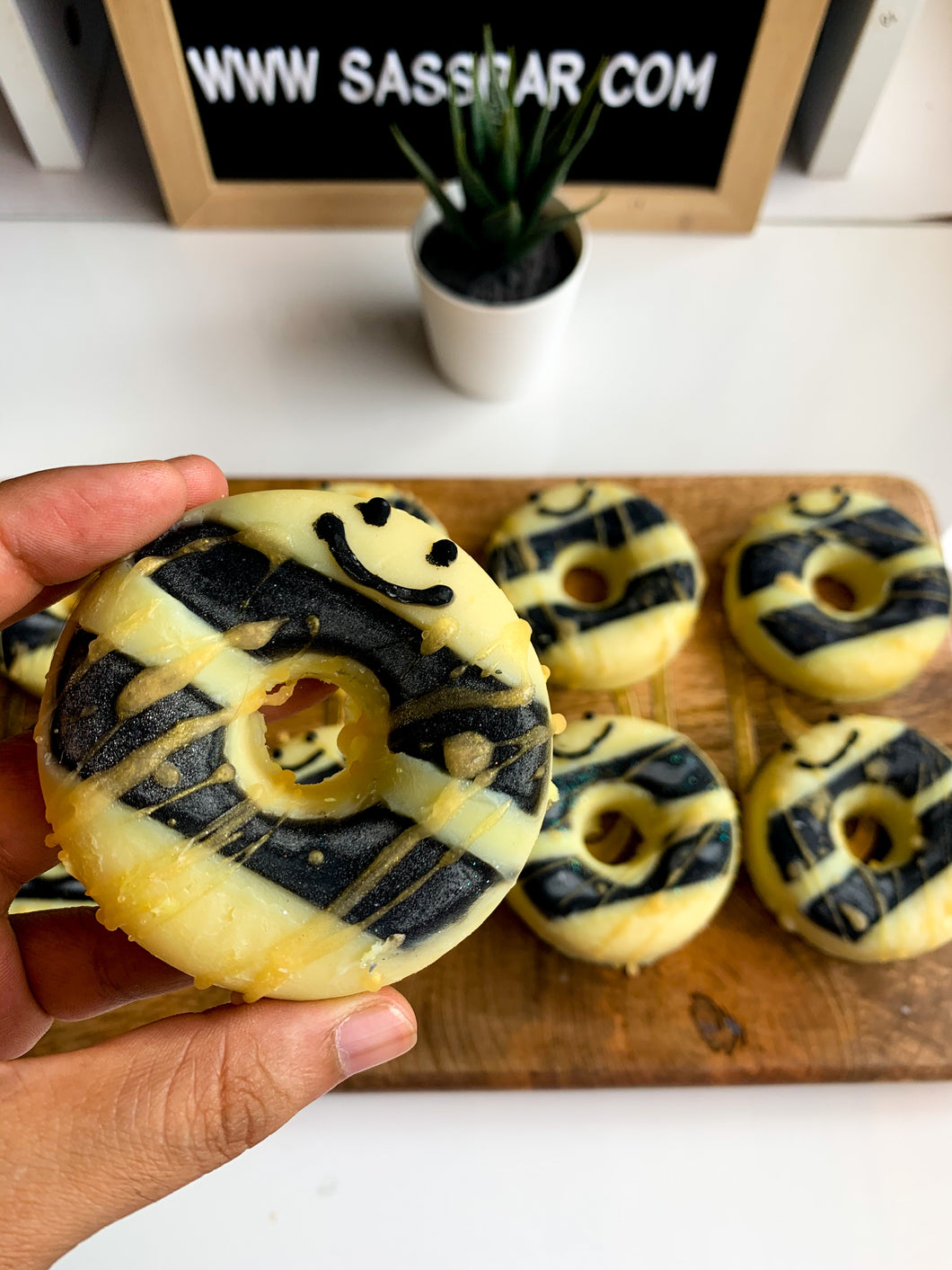 Honeybee  Donut Soap