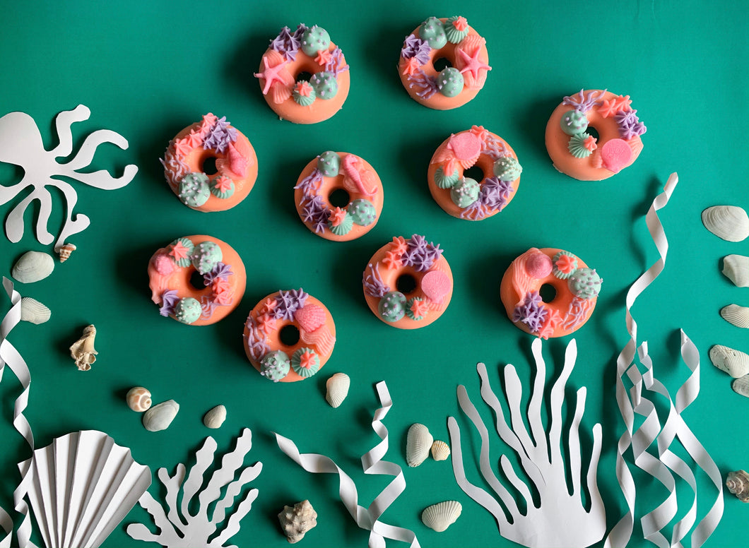 Coral Reef Donut Soap