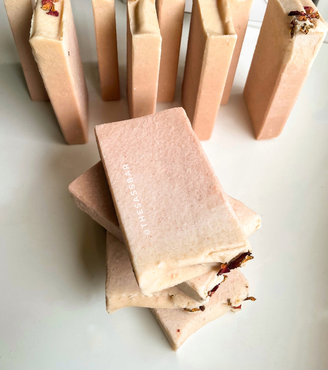 Pink Clay Salt Bar Soap