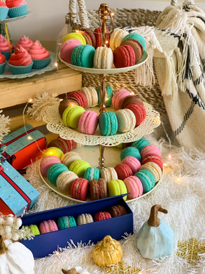 Winter Edition Macaron Soap Box (Set of 6)