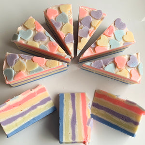 Birthday Cake Slice Soap