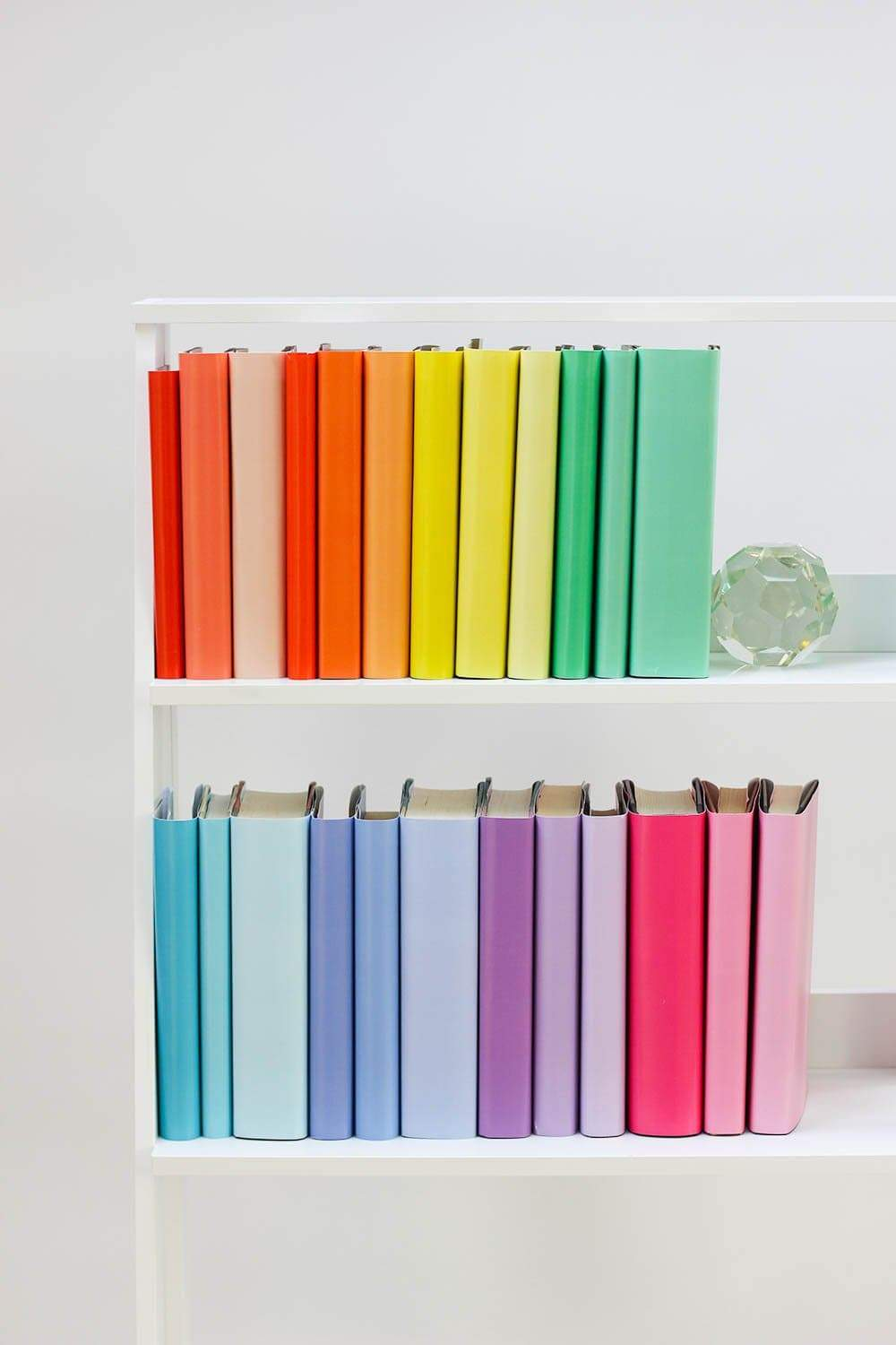 Set of 3 Rainbow Book Cover Samples for Wholesale