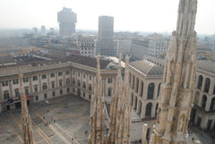 From the roof of the Duomo