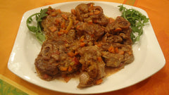 Delicious Osso Bucco on a Platter