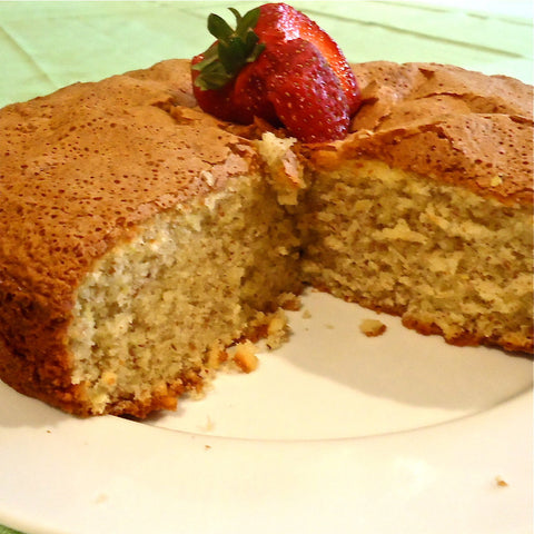 Lemon Olive Oil Almond Cake