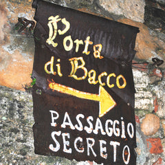 Shhh…top secret in Montepulciano