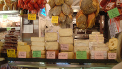 Cheese in Montepulciano