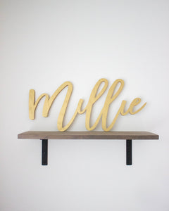 Large Name Cutout