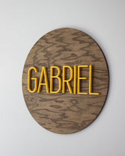 Large Nursery Name Wood Sign
