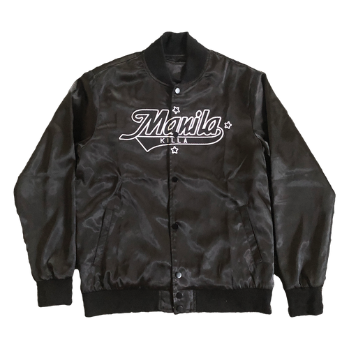 'On The Road' Manila Killa Varsity Jacket