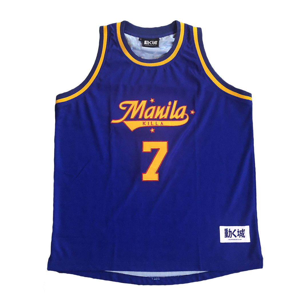 'Away' Manila Killa Basketball Jersey