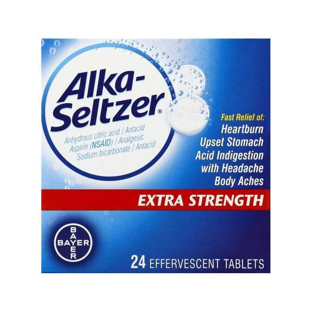 Alka-Seltzer Extra Strength Effervescent Tablets
