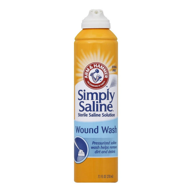 Arm & Hammer Simply Saline Wound Wash Spray 7 oz