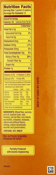 Metamucil Cinnamon Spice Fiber Thins 24 ct