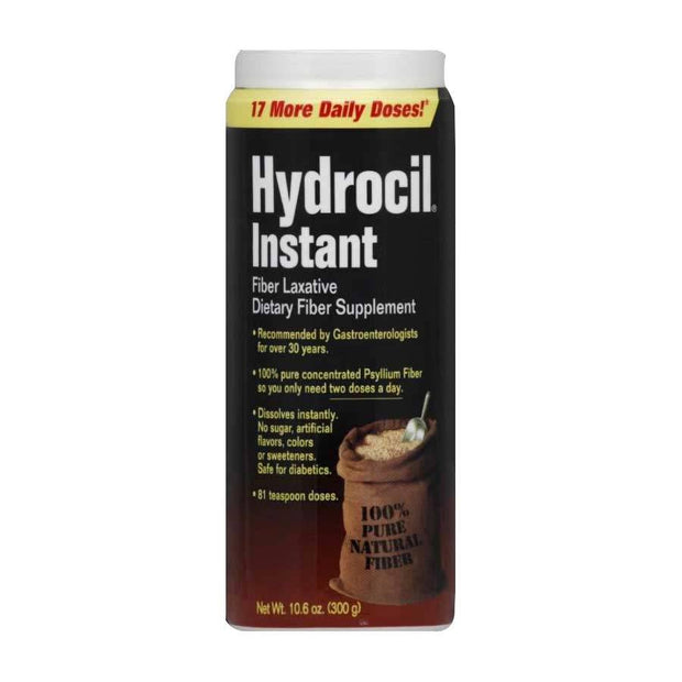 Hydrocil Instant Fiber Laxative Supplement Drink