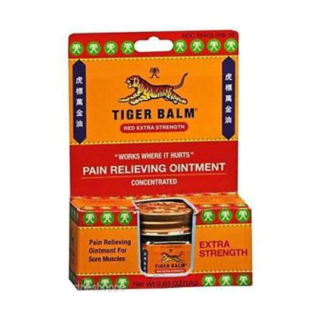 Tiger Balm Extra Strength Pain Relief Ointment