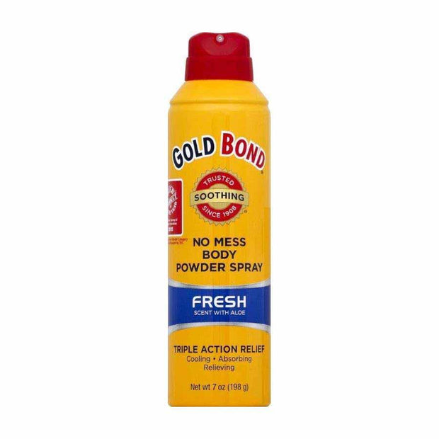 Gold Bond No Mess Body Powder Spray Fresh Scent
