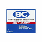 BC Aspirin Fast Pain Relief Powder Packets