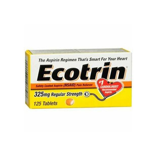 Ecotrin Regular Strength 325mg Tablets