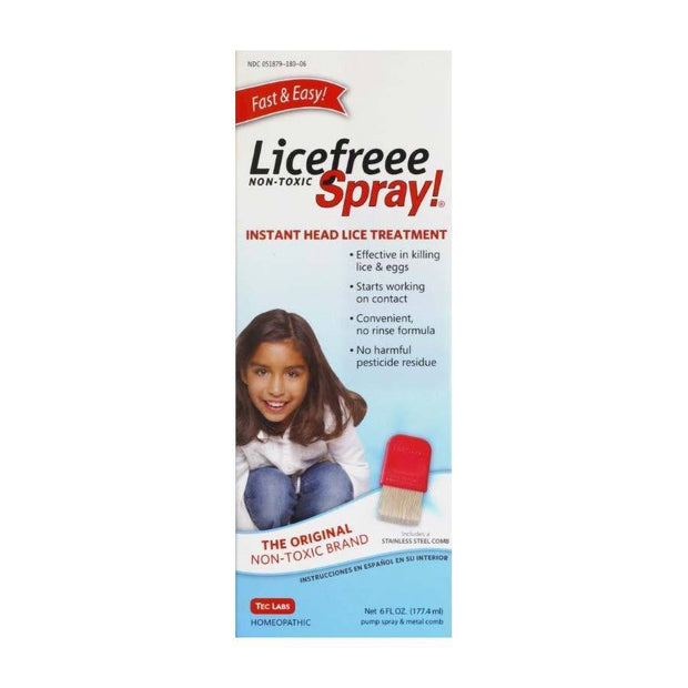 Licefreee Spray! Non-Toxic Killing Spray