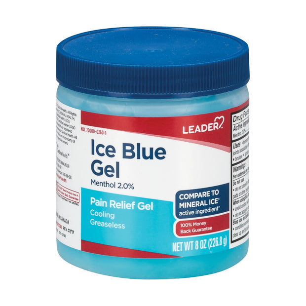 LEADER Ice Blue Pain Relief Gel