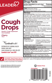 LEADER Cough Drops Cherry 30 ct