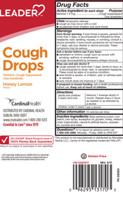 LEADER Cough Drops Honey Lemon 30 ct
