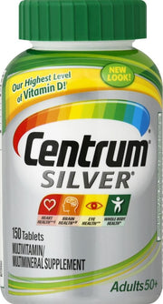 Centrum Silver Adults 50+ Multivitamin/Multimineral Tablets