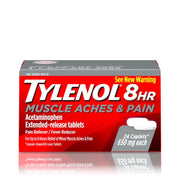 Tylenol 8 Hour Muscle Aches and Pain 650mg Caplets