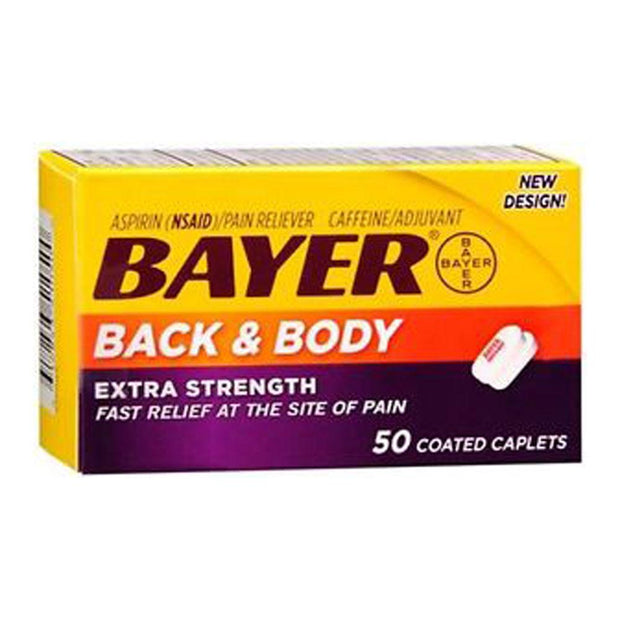Bayer Back & Body Extra Strength 500mg Caplets