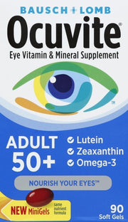 Ocuvite Eye Health Adult 50+ Softgels