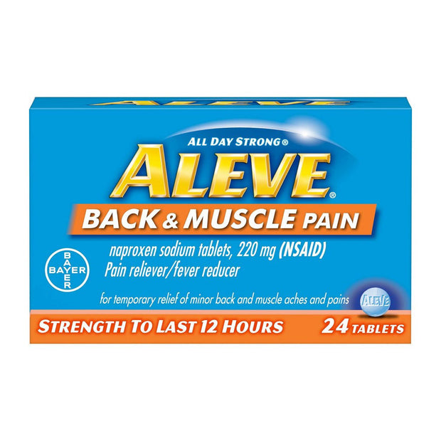 Aleve Back & Muscle Pain Relief 12 Hour Tablets