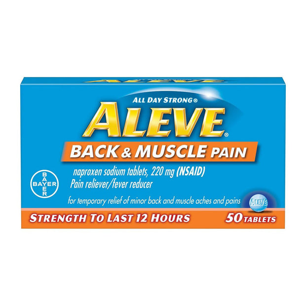 Aleve Back & Muscle Pain 12 Hour Tablets