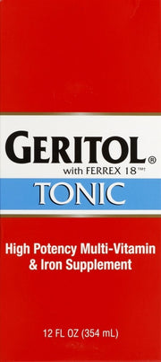 Geritol Energy Support Tonic Liquid 12 oz