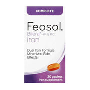 Feosol Complete with Bifera Iron Supplement Caplets