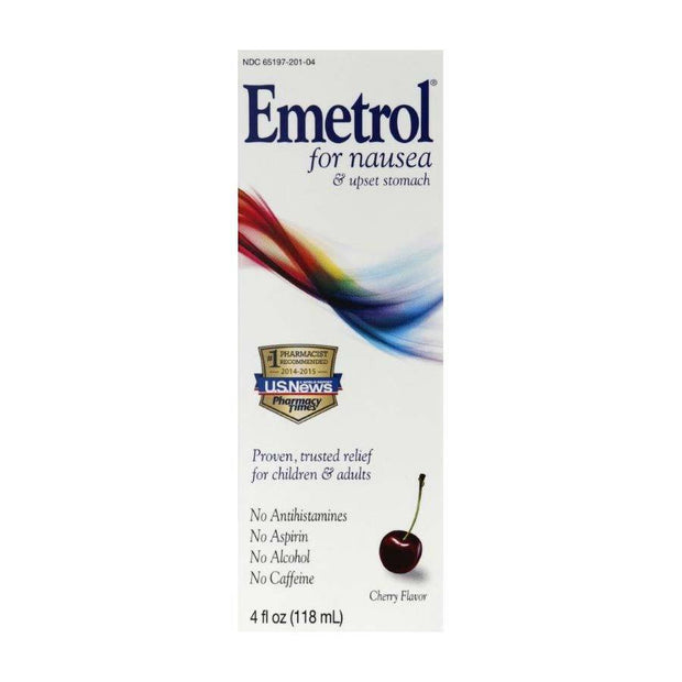 Emetrol for Nausea & Upset Stomach Cherry Liquid