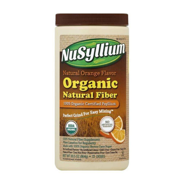 Nusyllium Organic Natural Fiber Orange Powder