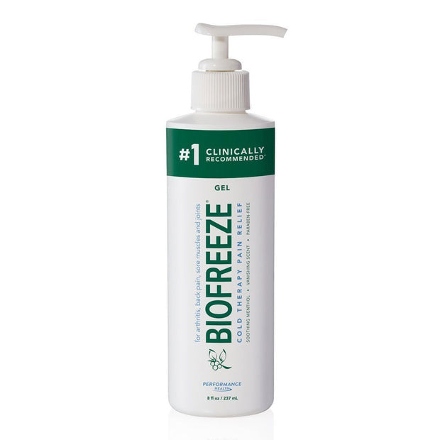Biofreeze Cold Therapy Pain Relief Gel with Pump