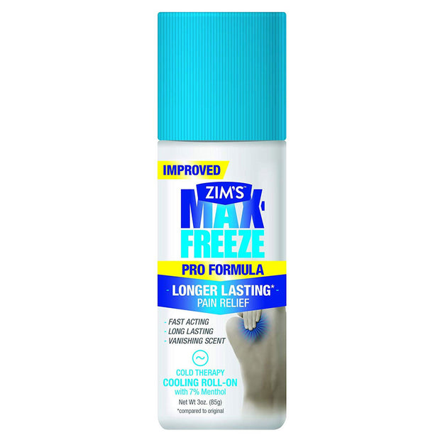 Zim's Max-Freeze Pro Formula Cold Therapy Cooling Roll-On